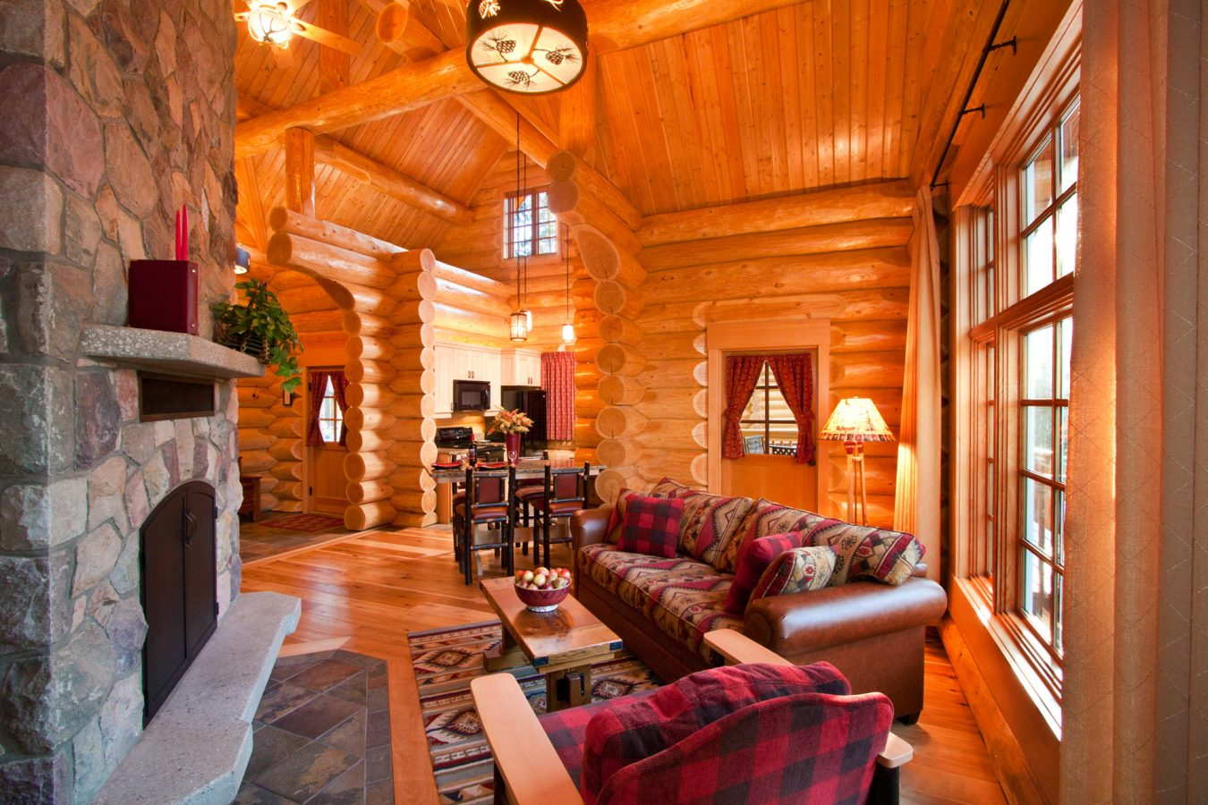 log home living rooms log cabin living rooms and great rooms american 11884