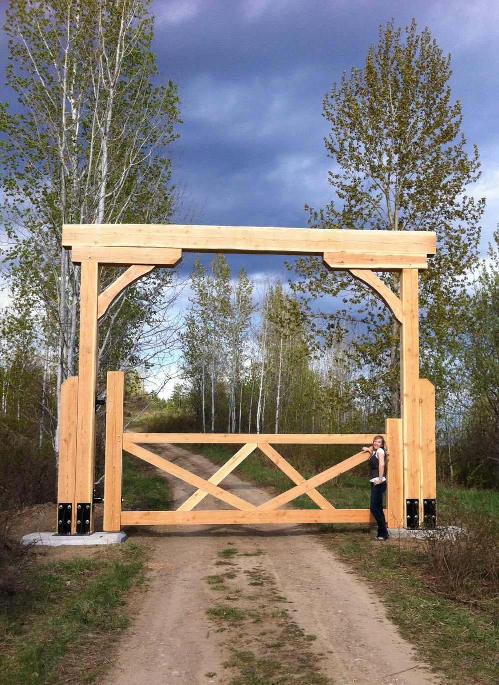 Gate Option 1 North American Log Crafters