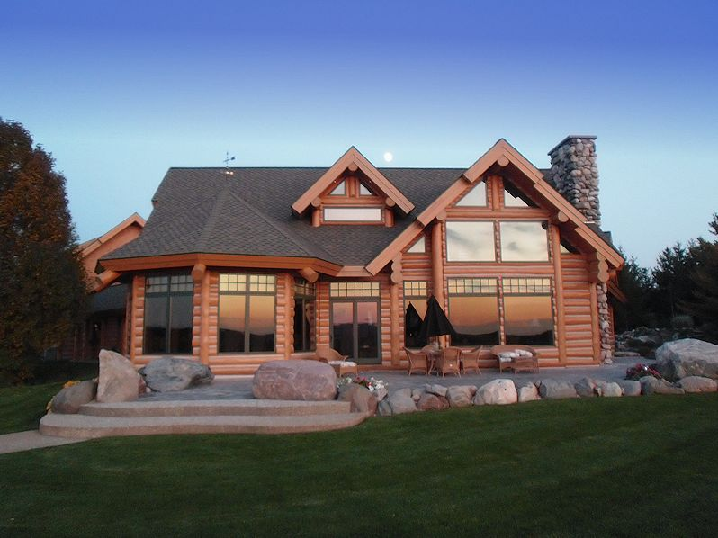Post Beam Log Homes Log Joinery Timber Frame