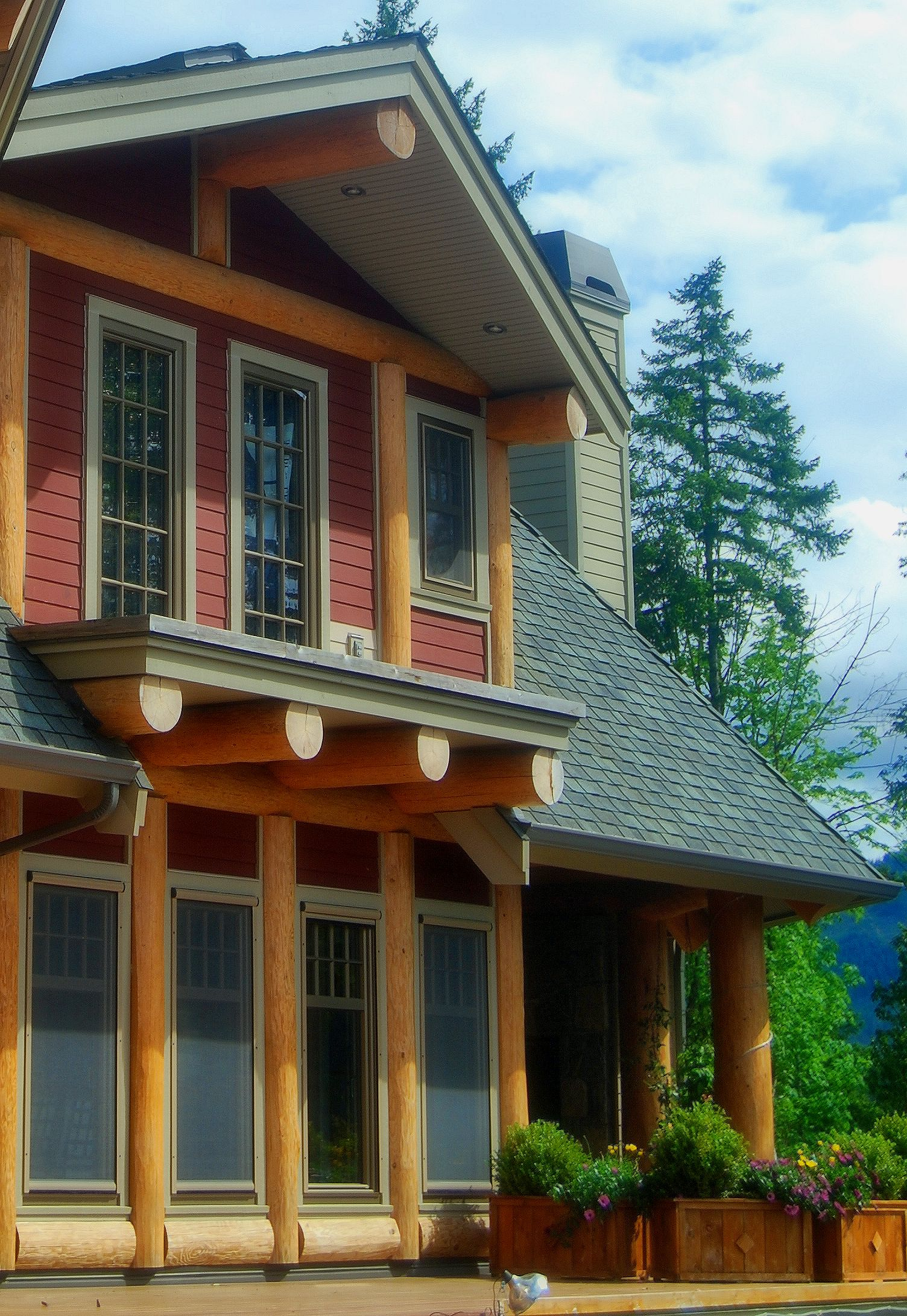Post Amp Beam Log Homes Log Joinery Timber Frame