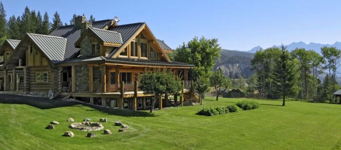 Classic Full Log Homes