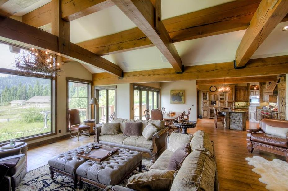 Timber Frame Interior