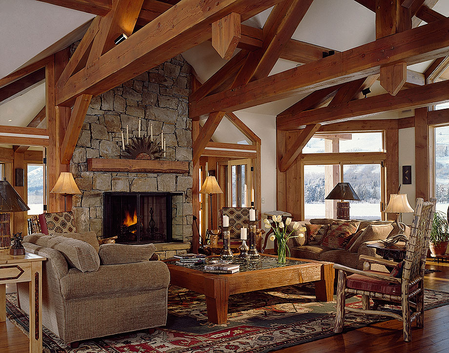 Timber Frame Styles Traditional Log Styles