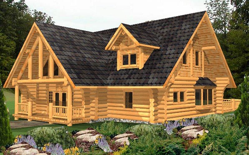 Log Home Lamberti 4