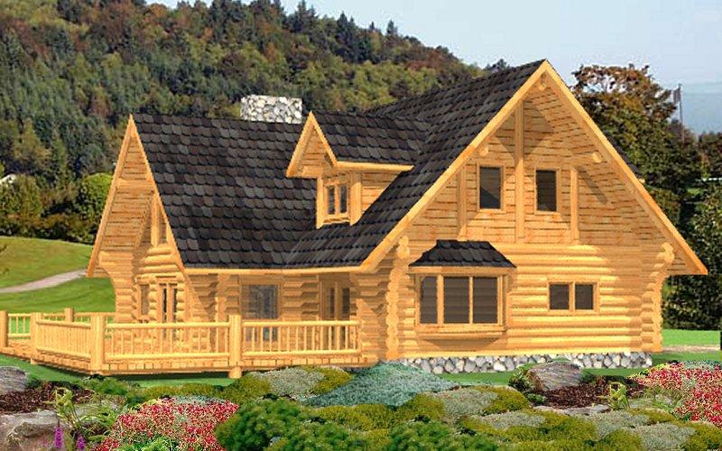 Log Home Lamberti