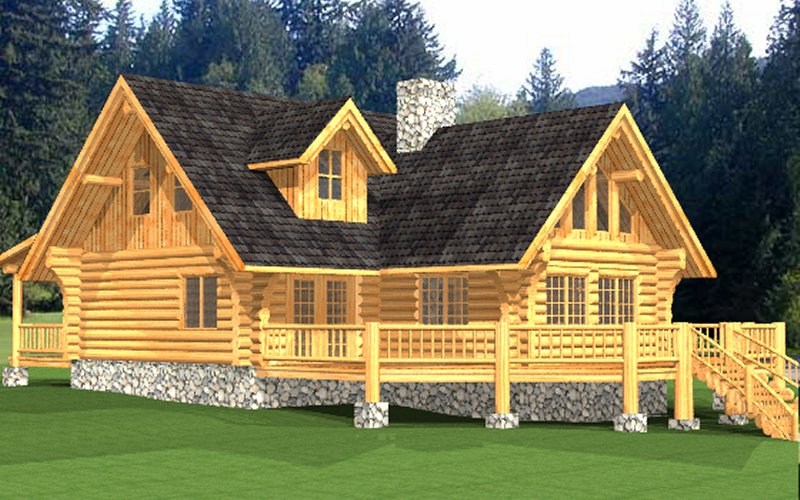 Log Home Macaffrey 3
