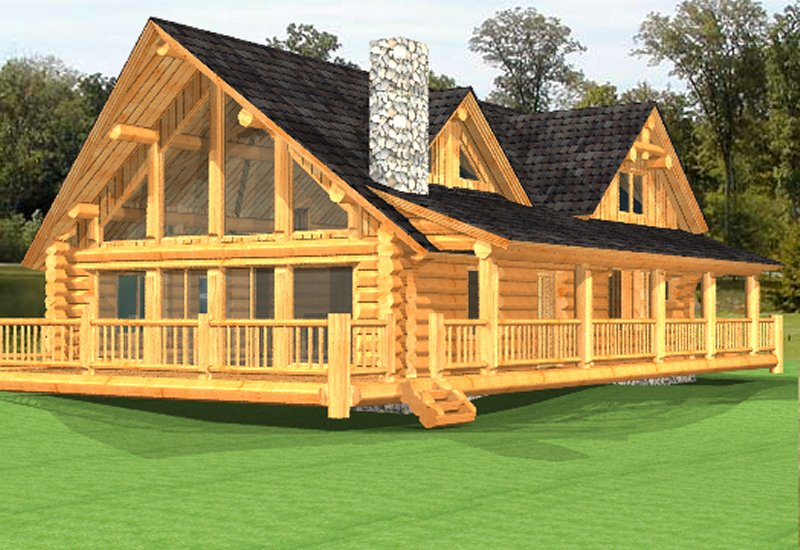 Log Home Poirier3