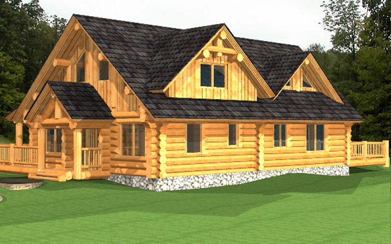 Log Home Poirier4