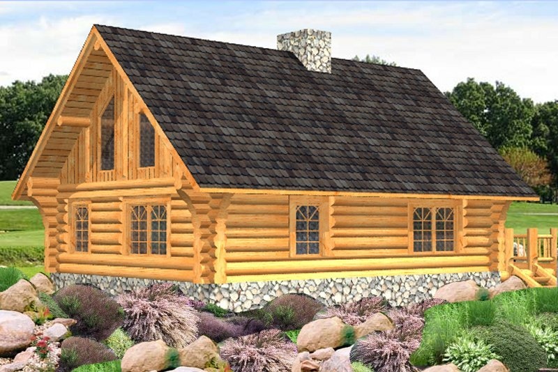 Log Home Russell (3)