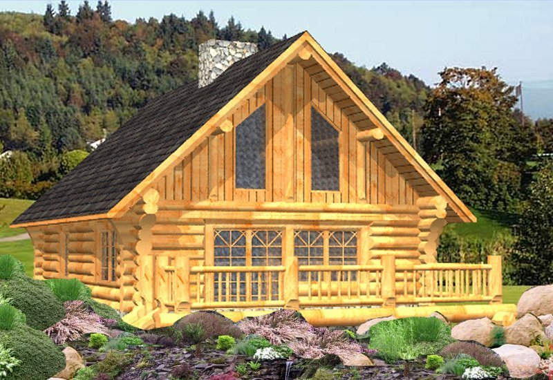 Log Home Russell (4)