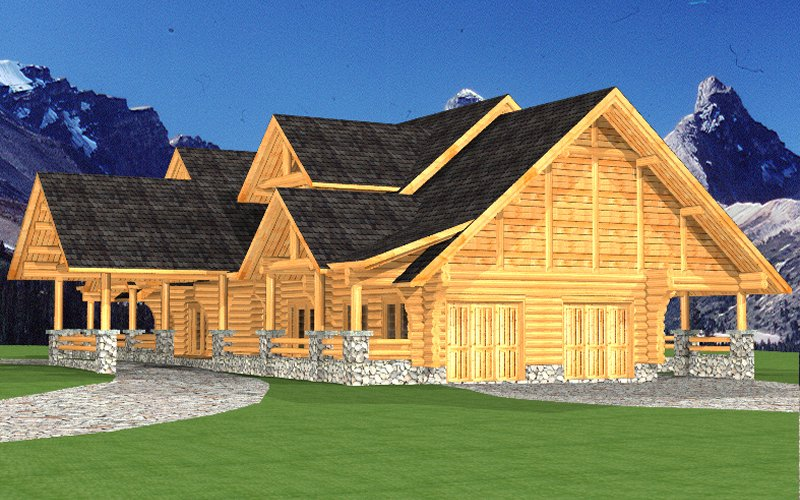 Log Home Sullivan