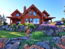Shuswap Lake Log Home Small