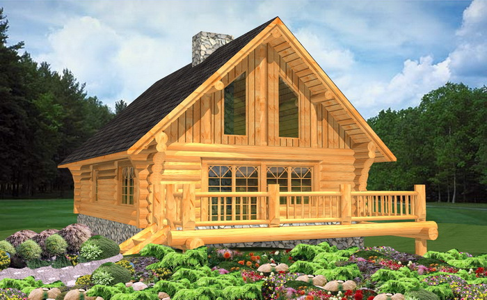 Russell log home designs log home plans log cabins for Custom luxury log homes