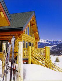 Log Ski Chalet small