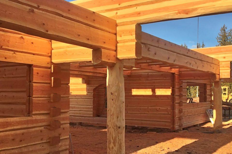 Dovetail Log House Detailjpg