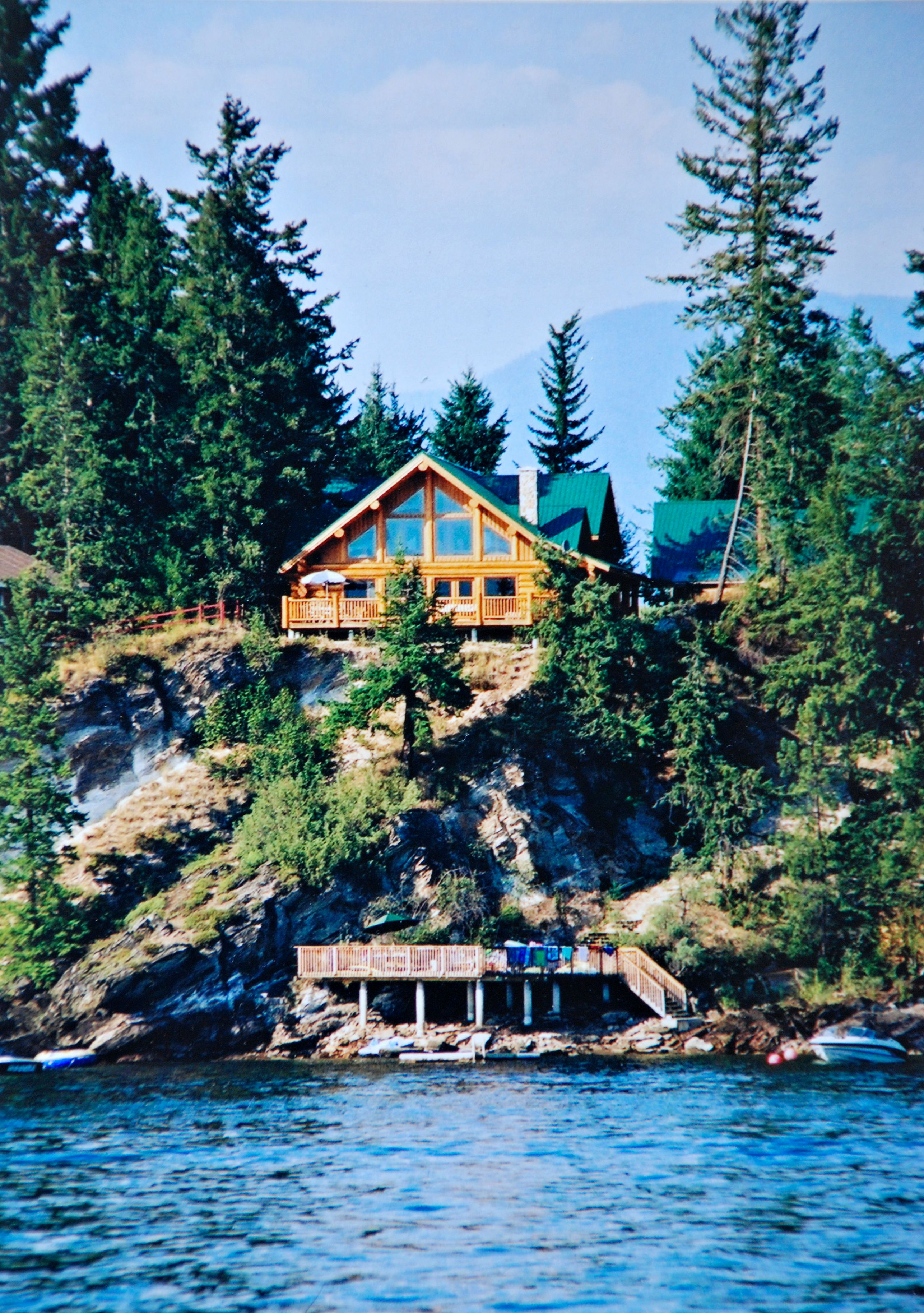 Work Less Play More Rental Cabins Income Property Shuswap