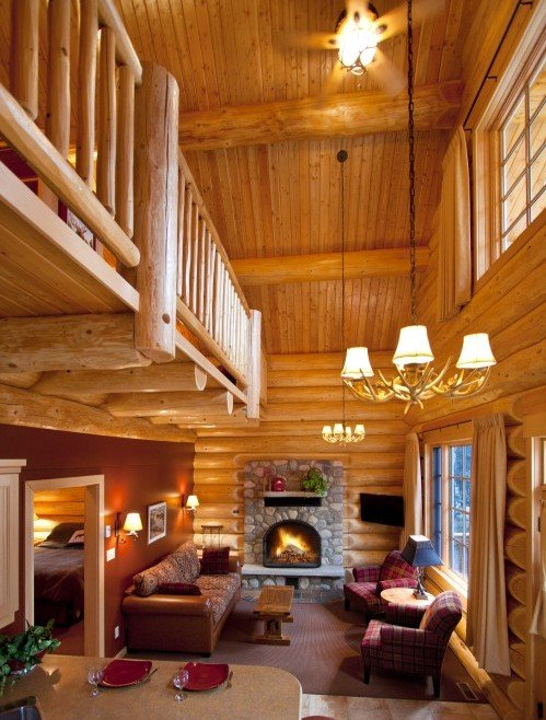 Family Log Cabin & Loft