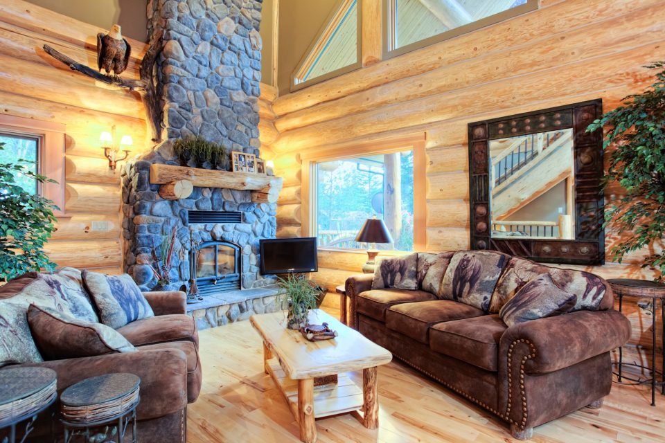 Log Cabin Living Room