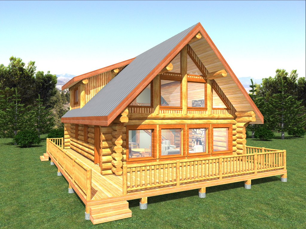 Log cabin floor plans alberta for Alberta house plans