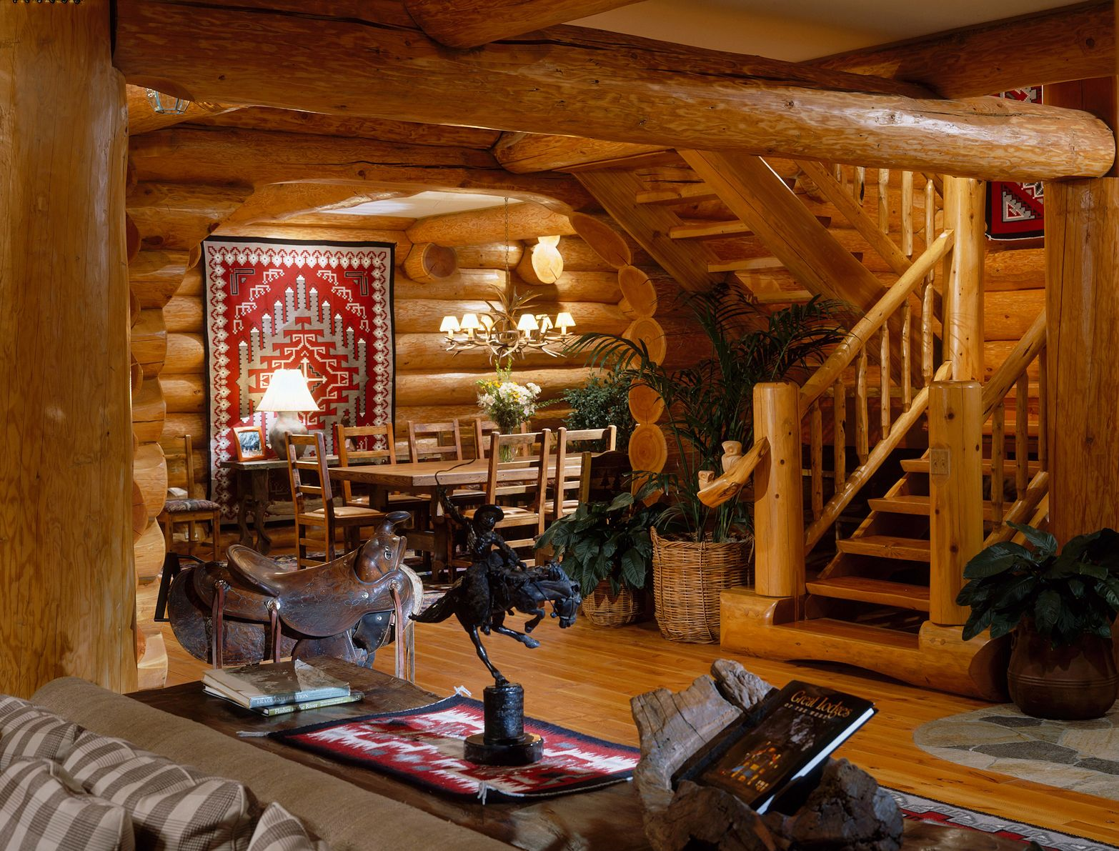 Timeless Log Home Style North American Log Crafters