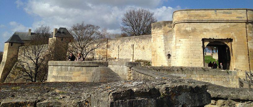 Castle in CaenJPG