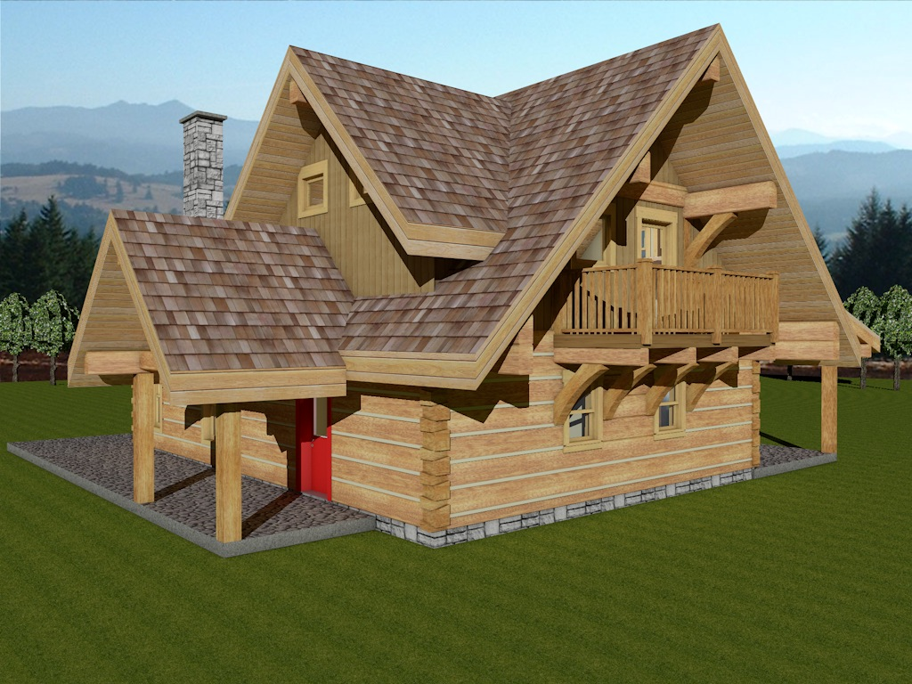 Dovetail Log Cabin Sweetgrass 2