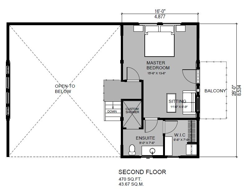 Sweetgrass Second floor
