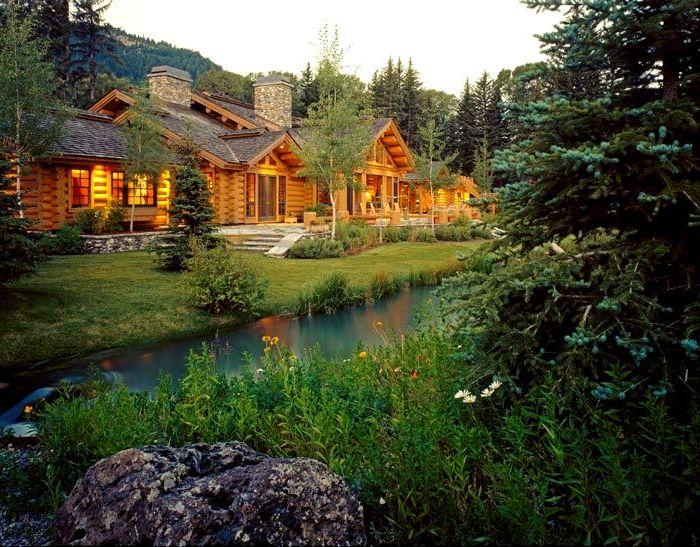 Log Homes in Wyoming