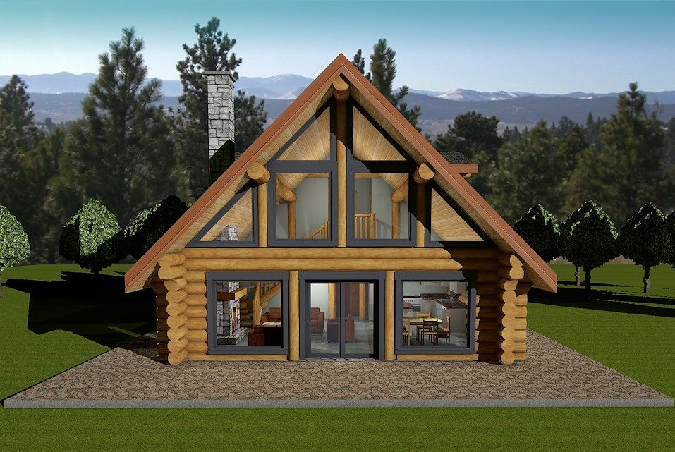 floor plans for small cabins horseshoe bay log house plans log cabin bc canada usa 7073