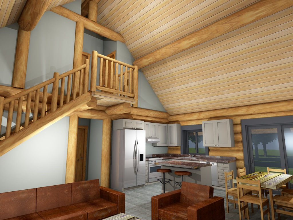 Log Cabin Interior 5