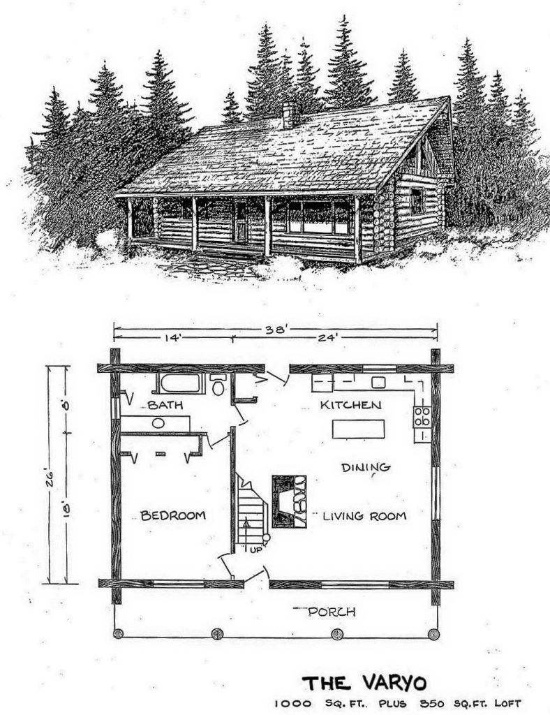 log-home-plan