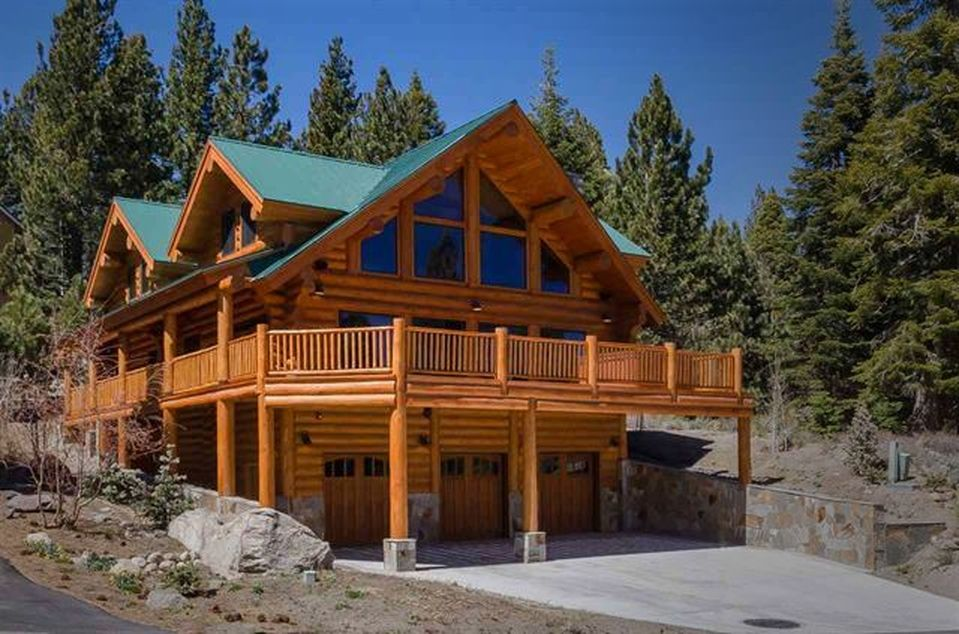Log home photos log homes log post and beam timber frame for American family homes