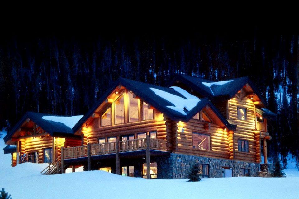 Log Cabin Ski Lodge
