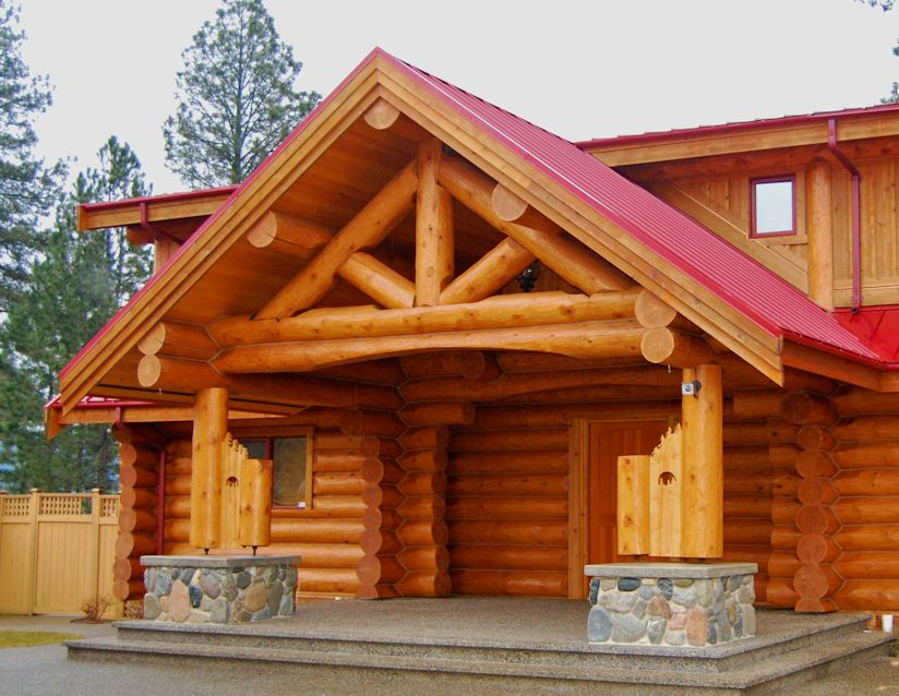 Log cabin facts log home answers quality log homes for Log cabin maintenance