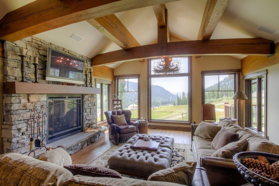 Timber Home Living Room