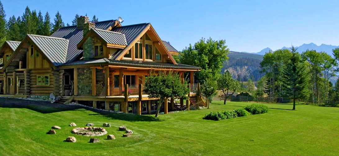 Luxury Log Mountain Retreat